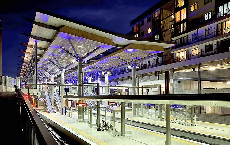 Newmarket rail station project
